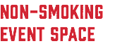 NON-SMOKING EVENT SPACE